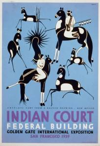 Indian Court Federal Building Picture