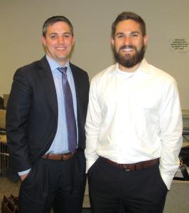 Josh Tabor and Adam McCormick