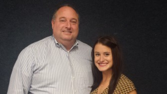 Cliff O'Connor and Katelyn Maloney