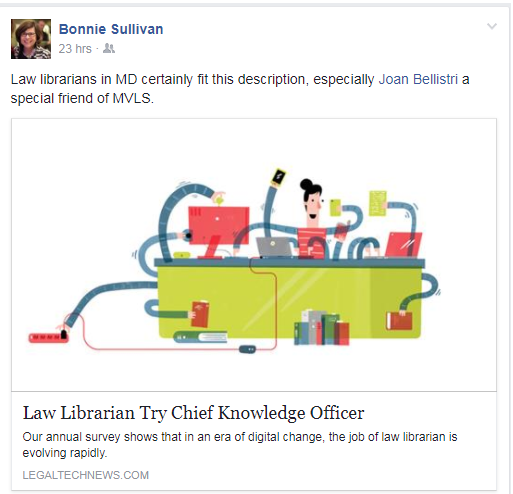 Changing Roles of Law Librarians « AACPLL Blog